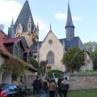Auf dem Weg zum Abschlussgottesdienst in der St. Elisabeth Kirche © Johannes  Köst