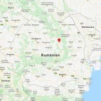 Lage von Sândominic in Rumänien